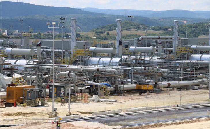 TürkAkım'da deniz geçiş hatlarından ilki doğal gazla dolduruluyor