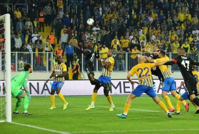 Beşiktaş-Ankaragücü maçından gol sesi çıkmadı