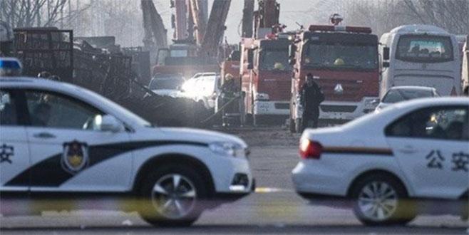 Çin'de fabrikada yangın: 4 ölü