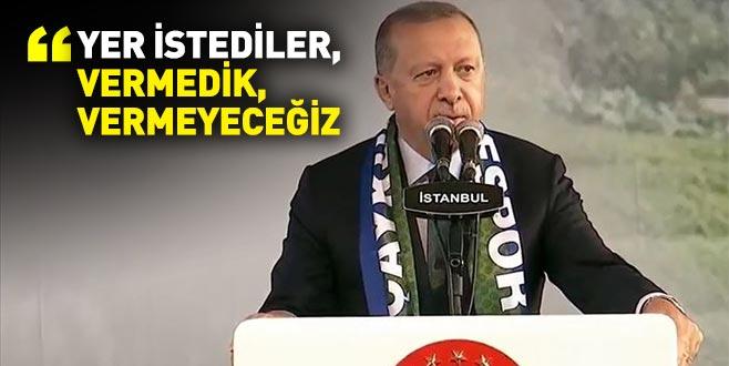 Cumhurbaşkanı Erdoğan: Elektronik sigara üretmek için bizden yer istediler, vermedik, vermeyeceğiz