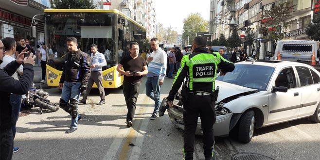 Bursa'da feci kaza! 75 metre sürüklendi…