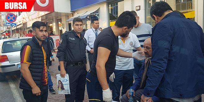 İznik'te trafik kazası: 1 yaralı