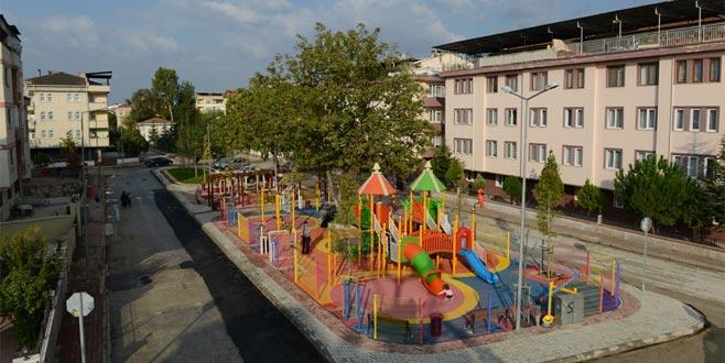 Kemalpaşa'da Konsept Park Hizmete Açıldı