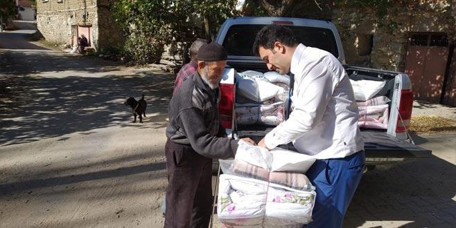 Keles'te sosyal destek projeleri artarak devam ediyor