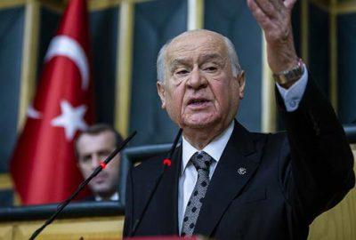 MHP lideri Bahçeli duyurdu; Askıya alıyorum…