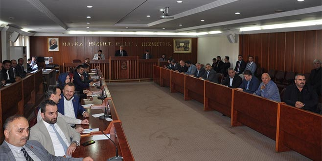 İnegöl Belediye Meclisi Kasım ayı toplantısını yaptı
