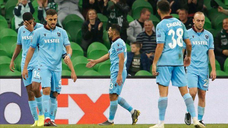 Trabzonspor Rusya deplasmanında kaybetti