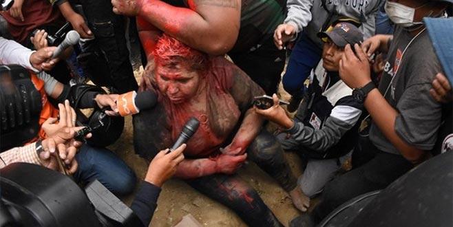 Bolivya'da kadın belediye başkanına işkence