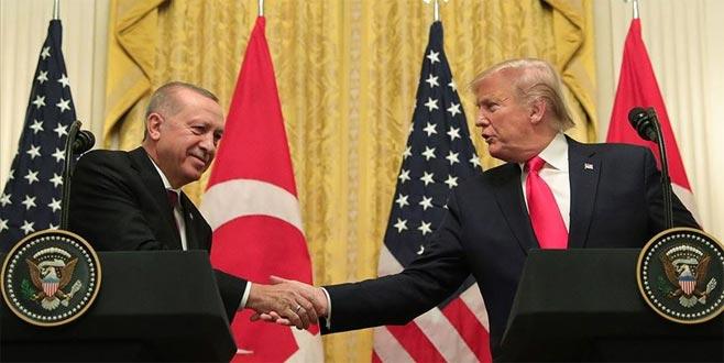 Trump: Çok harika ve verimli bir görüşme gerçekleştirdik