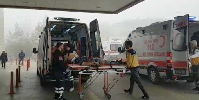 Bursa'da fabrikada korkunç olay