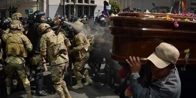 Cenazeyepolis saldırısı
