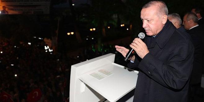 Cumhurbaşkanı Erdoğan: Barış Pınarı Harekatı'yla YPG/PKK'ya gereken dersi veriyoruz