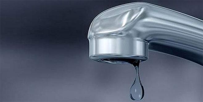Harmancık su kesintisi! Yıl sonuna sürecek