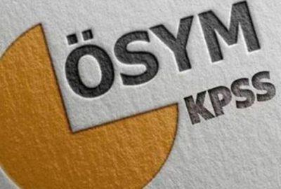 ÖSYM'den 2020-KPSS açıklaması; Sınava giriş belgeleri…