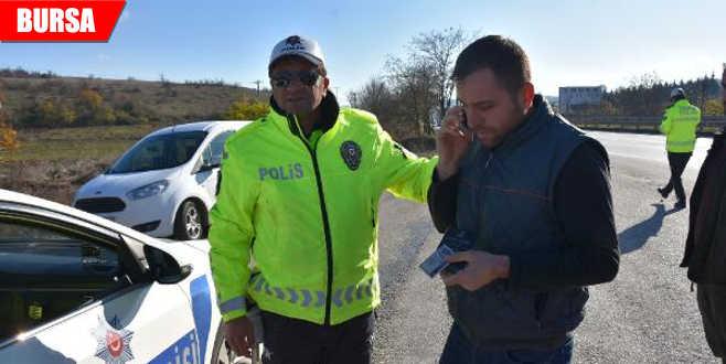 Ceza kesilen sürücülerin gülümseten tepkileri