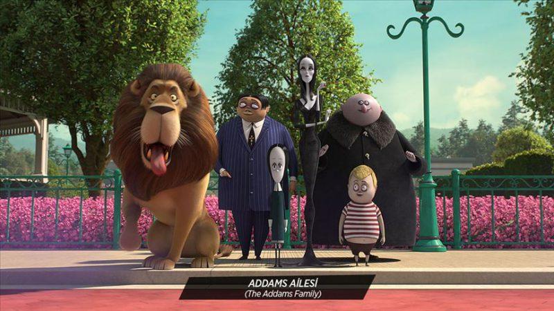 'Addams Ailesi' animasyon filmiyle sevenleriyle buluşuyor