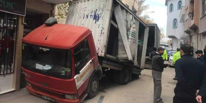 Bursa'da akıl almaz kaza! İki büklüm oldu