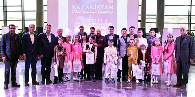 Fetih Müzesi'nde Kazakistan etkisi