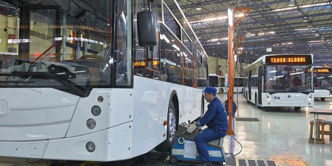 Temsa'da üretim durdurdu