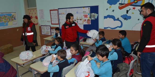 Kelesli öğrencilere Kızılay'dan sürpriz