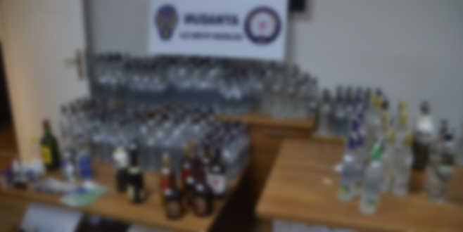 Mudanya Polisi'nden kaçak içki operasyonu