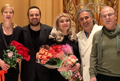 Tenor Karahan Bolşoy'a damga vurdu