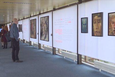 Cenevre'de 'Hayat Devam Ediyor, Sanat Devam Ediyor' sergisine büyük ilgi