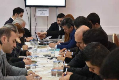 Mustafakemalpaşa Şehir Politikaları Analizi çalıştayına ev sahipliği yaptı