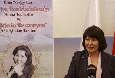 Dağıstanlı Nogay şair Kadriye Temirbulatova için TÜRKSOY'da anma