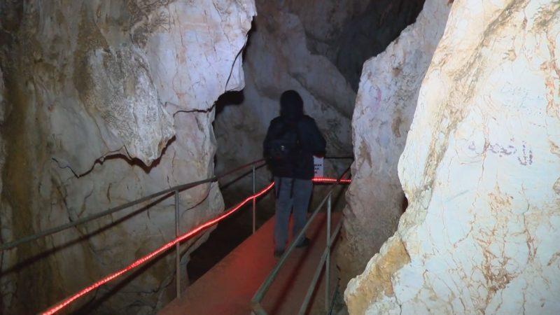 Bu mağaraya gelenler şaşkınlarını gizleyemiyor! Turistlerin uğrak noktası…