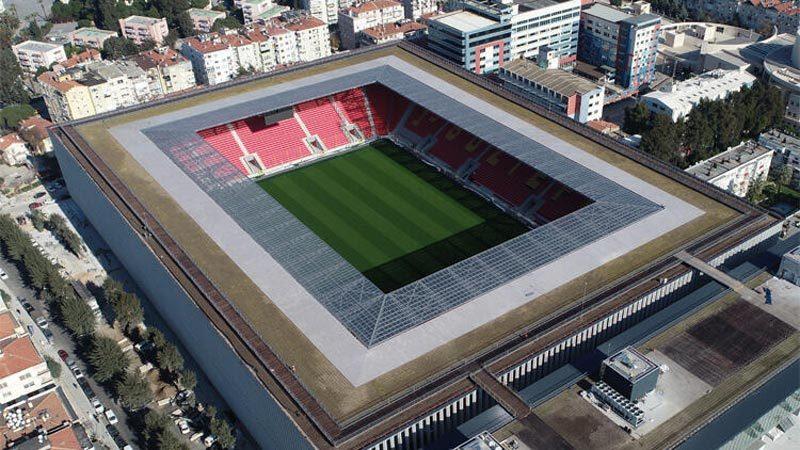 Türkiye'de ilk! Göztepe'nin yeni stadı…