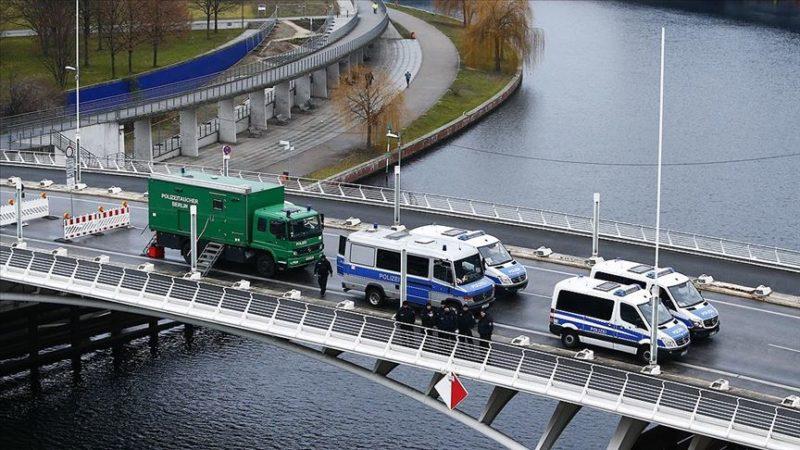 Berlin'de geniş güvenlik önlemi
