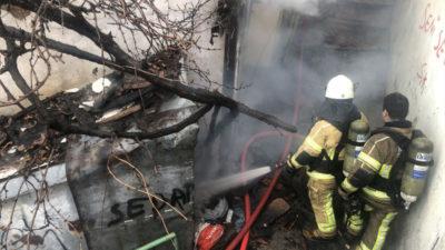 Bursa'da akıl almaz olay! Annesine kızdı evi yaktı