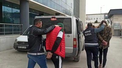 Bursa'da narkotik operasyonu: 3 tutuklu