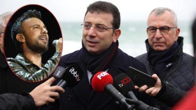 İBB Başkanı Ekrem İmamoğlu'ndan Tarkan açıklaması!