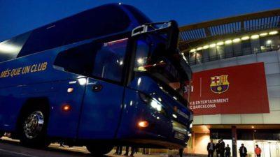 Barcelona takım otobüsü Cidde'de kayboldu!