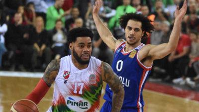 ING Basketbol Süper Ligi'nde ilk yarının lideri Anadolu Efes