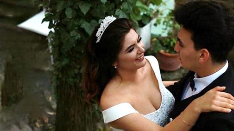 Hanife düğün yaptı! İşte dikkat çeken detay