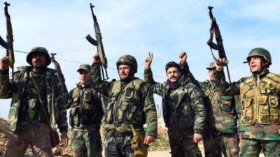 Esad güçleri İdlib'e girdi