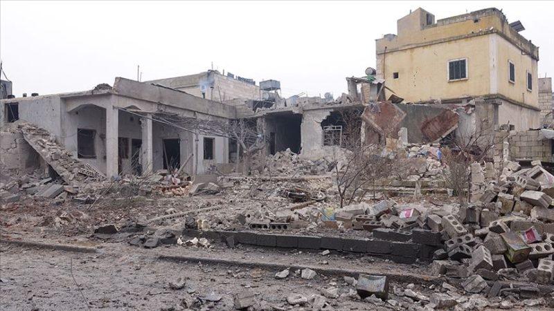 Rus savaş uçaklarından İdlib'e saldırı: 12 ölü