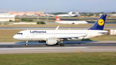 Lufthansa, Çin'e tüm uçuşlarını durdurdu