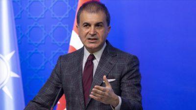 AK Parti'den Türk bayrağını yırtan Yunan vekile tepki