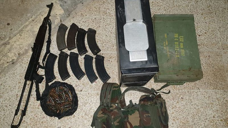 Tel Abyad'da eylem hazırlığındaki 4 PKK/YPG'li yakalandı