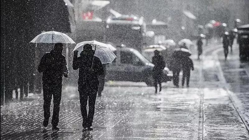 Şemsiyeleri hazırlayın… Cumartesi gününe kadar devam edecek…