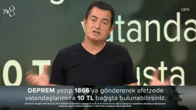 Acun Ilıcalı'dan duygulandıran konuşma! Yardım programını Atatürk'ün sözüyle bitirdi