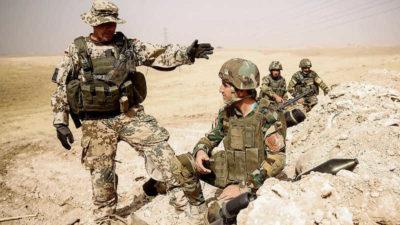 Alman askeri yeniden Kuzey Irak'ta
