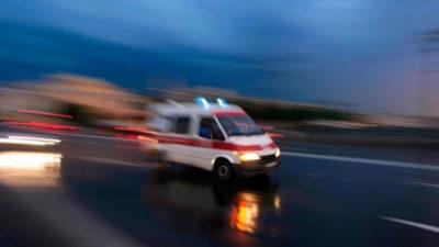 Bursa'da motosiklet devrildi: Sürücü ağır yaralı…