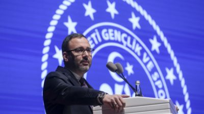 Spor bakanı açıkladı; Yasa yakın zamanda meclise gelecek