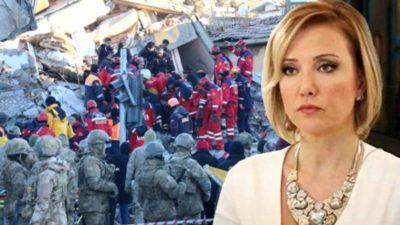 Berna Laçin'in deprem sonrası yaptığı vergi paylaşımı eleştiri yağmuruna tutuldu