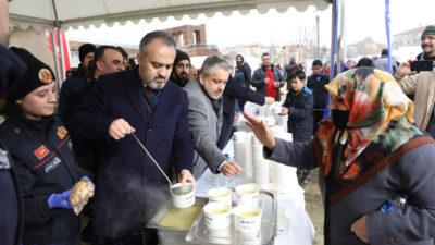 Depremzedelere Bursa morali